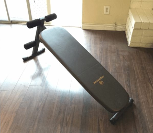 This is hands down the most compact sit-up bench I have ever seen