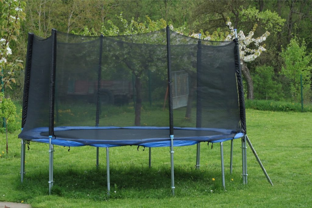 outdoor trampoline for gymnastics