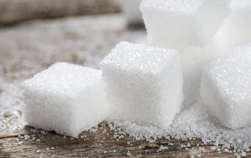amound of sugar in supplements